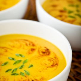 Butternut Apple Soup|AFoodCentricLife.com