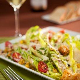 Garlicky Caesar Salad|AFoodCentricLife.com