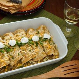 chicken enchiladas | AFoodCentricLife.com
