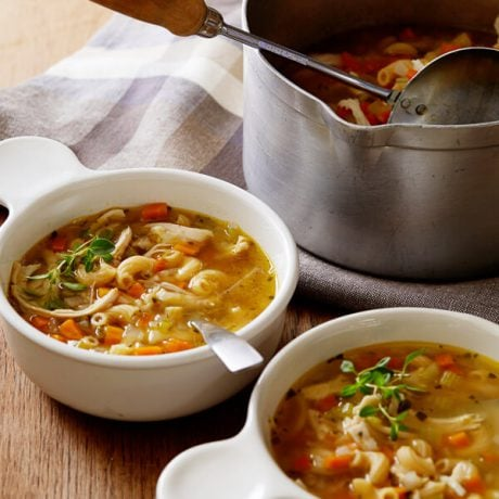 Chicken Noodle Vegetable Soup | AFoodCentricLife.com