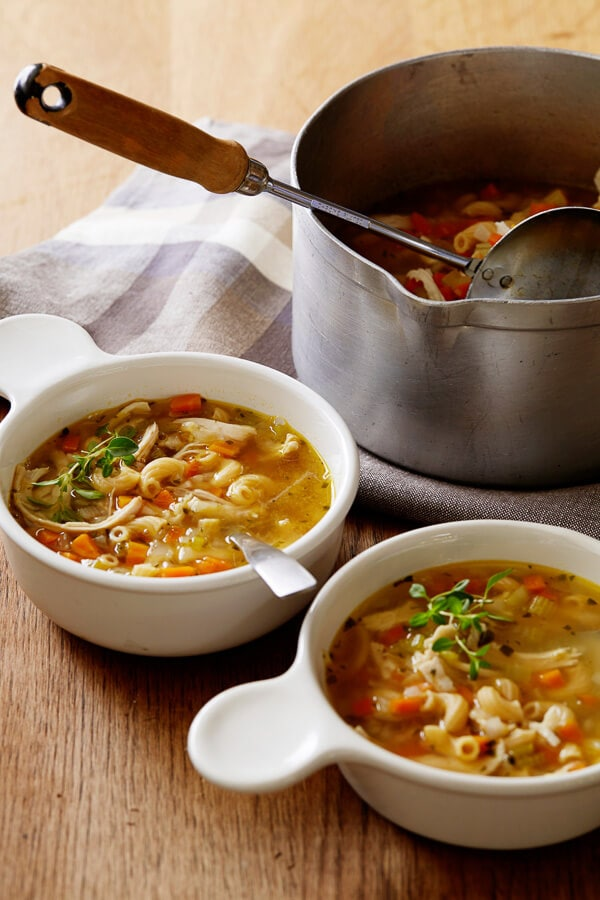 Chicken Noodle Vegetable Soup - A Food Centric Life