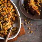 cornbread cranberry dressing | A FoodCentricLife.com