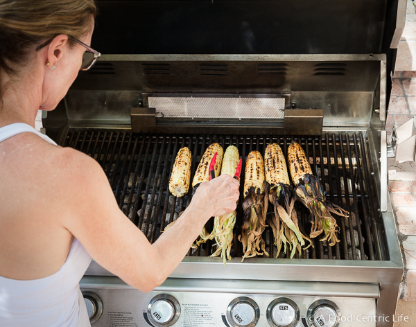 Grilled Corn on the Cob|AFoodCentriclIfe.com
