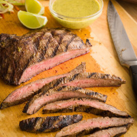 Grilled Flank Steak | AFoodCentricLife.com