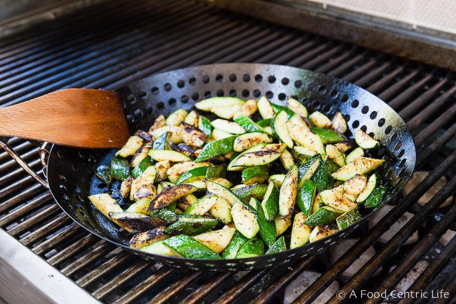 grilled zucchini | AFoodCentricLife.com