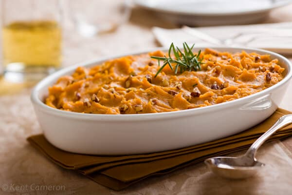 Mashed Sweet Potatoes with Rosemary - A Food Centric Life