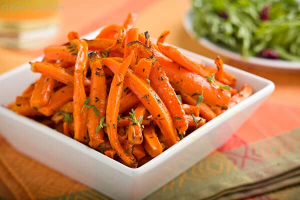 roasted carrots | Afoodcentriclife.com