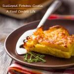 scalloped potatoes gratin | AFoodCentricLife.com