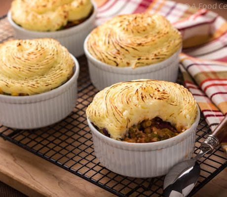 vegetarian shepherds pie |AFoodcentricLife.com