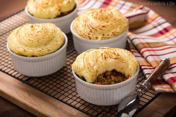 vegetarian shepherds pie | AFoodcentricLife.com