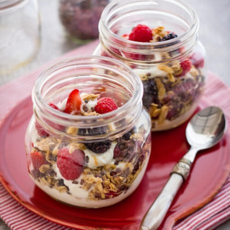yogurt parfait | afoodecntriclife.com