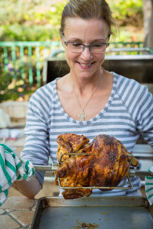 rotisserie chicken | AFoodCentricLife.com
