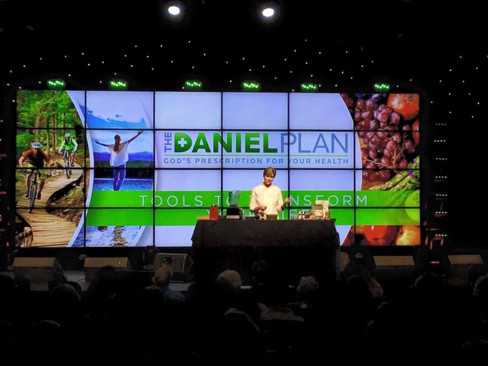 Daniel Plan Rally|AFoodCentricLife.com