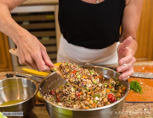 Daniel Plan Mediterranean Quinoa Salad|AFoodCentricLife.com