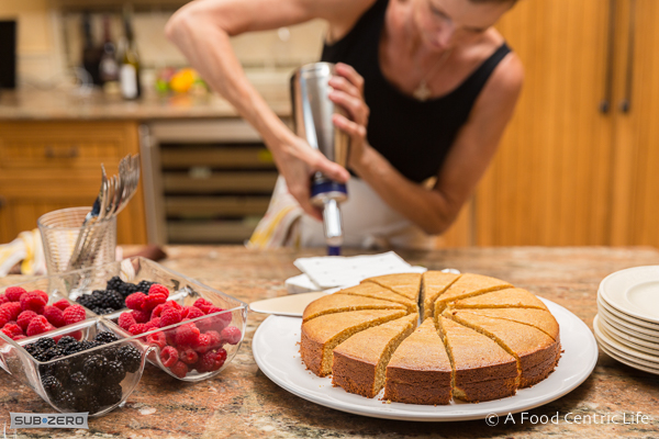 Lemond Almond Polenta Cake|AFoodCentricLife.com