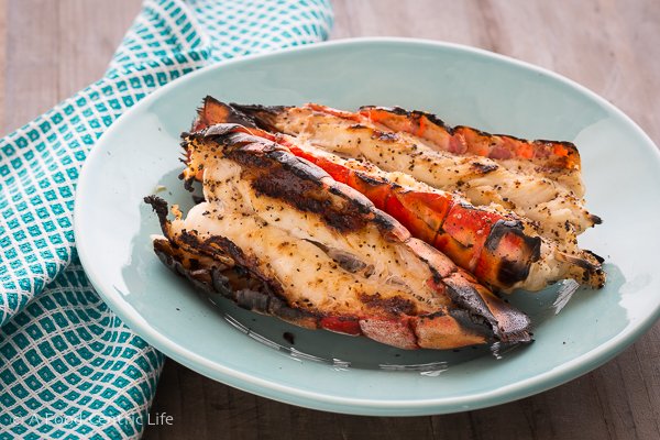 Grilled lobster tails|AFodoCentricLife.com