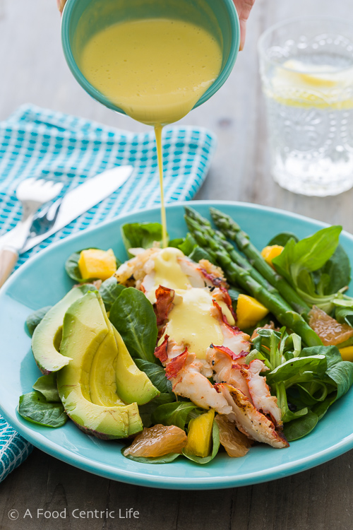 Lobster Salad with Creamy Citrus Dressing - A Food Centric ...