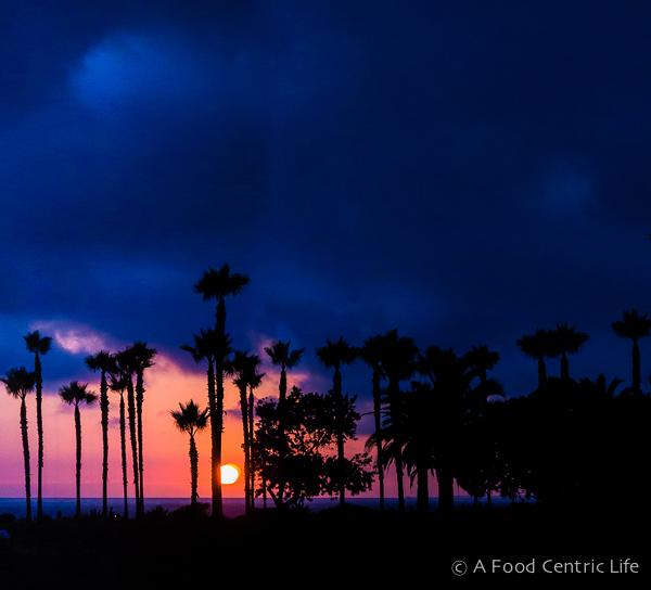 Sunset from Studio at Montage Resort and Spa, Laguna Beach, California, USA