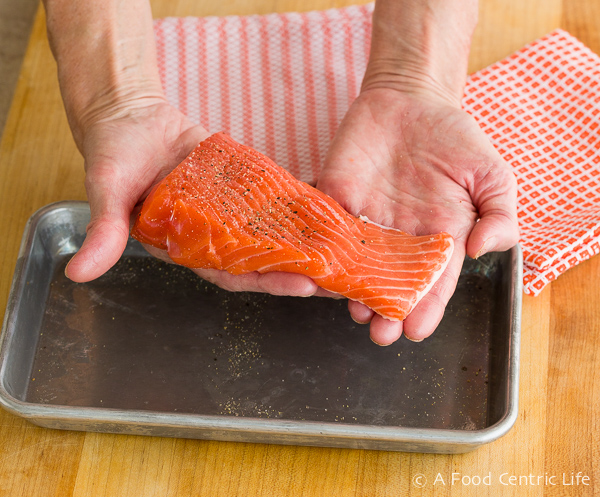 salmon filet|AFoodCentricLife.com