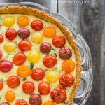 cherry tomato tart | AFoodCentricLife.com