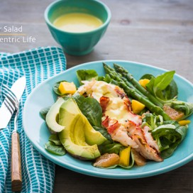 Lobster Salad|AFoodCentricLife.com
