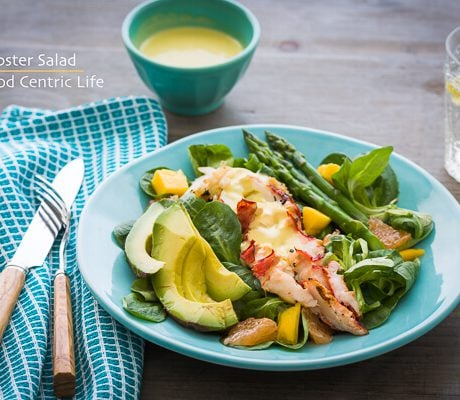 Lobster Salad | AFoodCentricLife.com