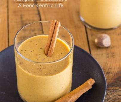 Pumpkin Pie Smoothie | AFoodCentricLife.com