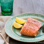 Steamed Salmon|AFoodCentriclIfe.com