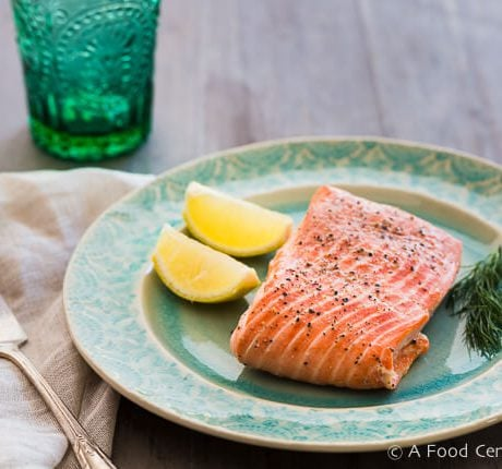 Steamed Salmon | AFoodCentriclIfe.com