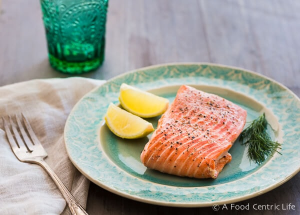 How To Steam Salmon A Foodcentric Life