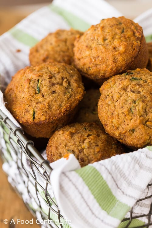 Zucchini Applesauce Muffins A Foodcentric Life
