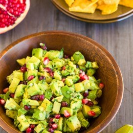 Avocado and Pomegranate Guacamole-141