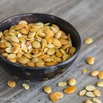 toased pumpkin seeds|AFoodCentricLife.com