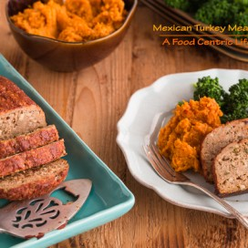 Mexican Turkey Meatloaf|AFoodCentricLife.com