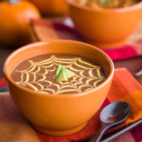 Black Bean Pumpkin Soup | AFoodCentricLife.com