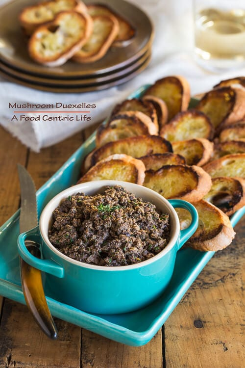 Mushroom Duxelles | AFoodCentricLife.com