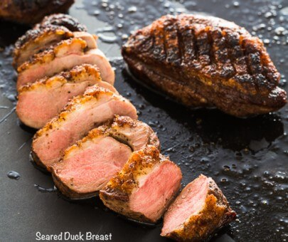 Seared Duck Breast|AFoodCentricLife.com