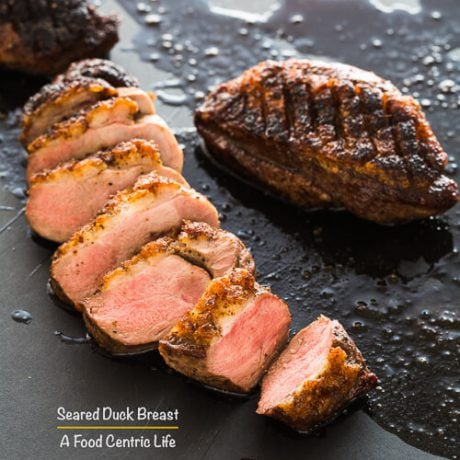 Seared Duck Breast | AFoodCentricLife.com