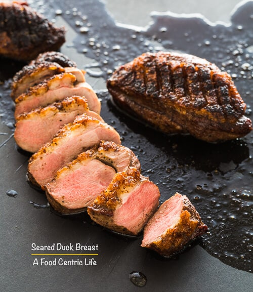 Crispy Seared Duck Breast A Foodcentric Life