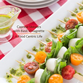 Caprese Skewers|AFoodCentricLife.com
