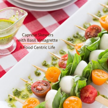 Caprese Skewers | AFoodCentricLife.com