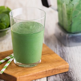 Hawaiian Green Smoothie|AFoodCentricLife.com