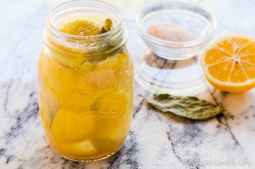 lemons, salt and lemon juice – learn how to make preserved lemons ...