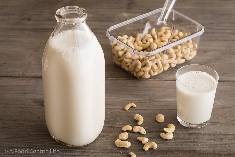 Homemade Cashew Milk | A Foodcentric Life