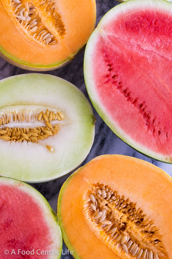 Summer Melons|AFoodCentricLife.com