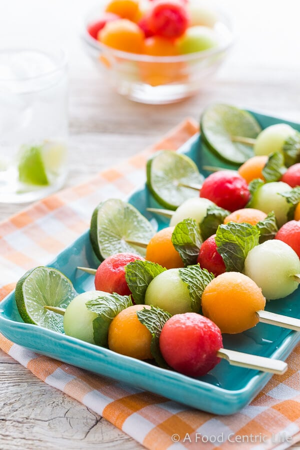 Melon Kabobs | AFoodCentricLife.com