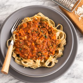 Bison Bolognese Meat SauceAFoodCentricLife.com