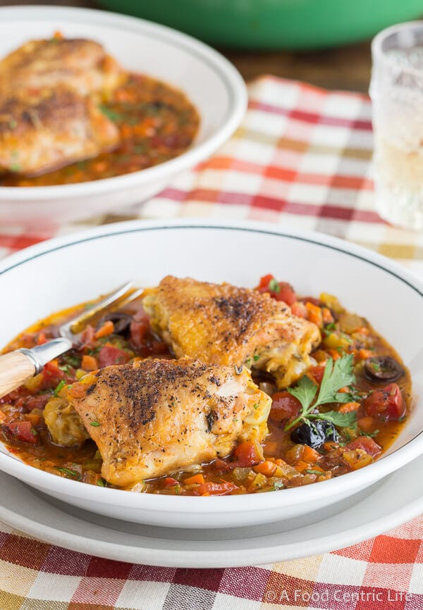 Mediterranean Chicken | AFoodCentricLife.com