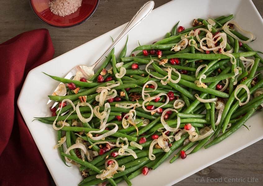 Thanksgiving Green Beans A Foodcentric Life