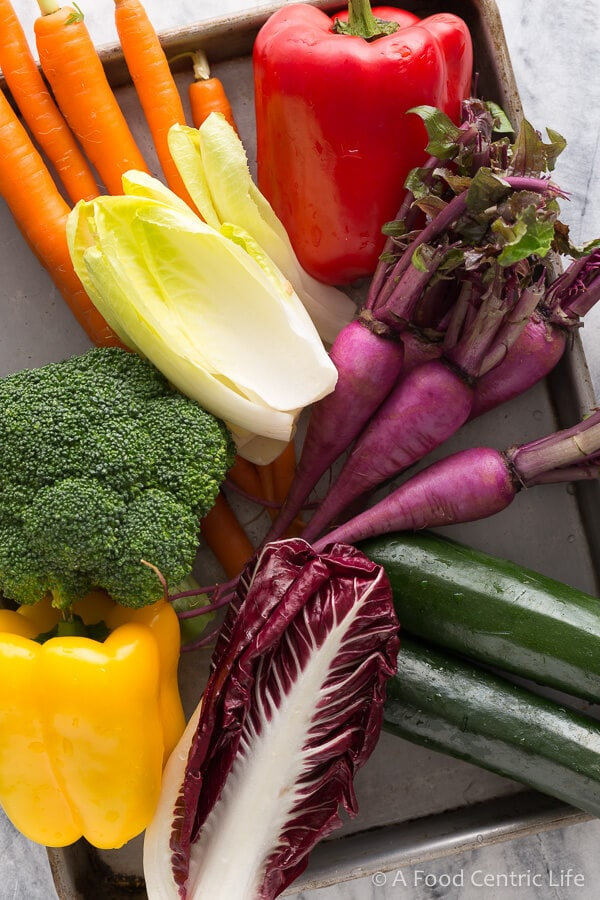 colorful vegetables|AFoodCentricLife.com